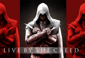 Ezio Live by the Creed by Daphnecool