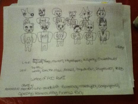 Writers of Animal Crossing Community Part I by Liv909