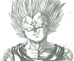 Majin Vegeta by THEGODSLAYER91