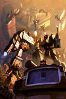 Decepticons_color by LivioRamondelli