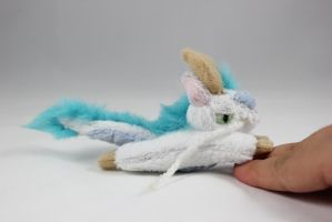 TINY Haku Dragon Plush Charm by SweetEmii