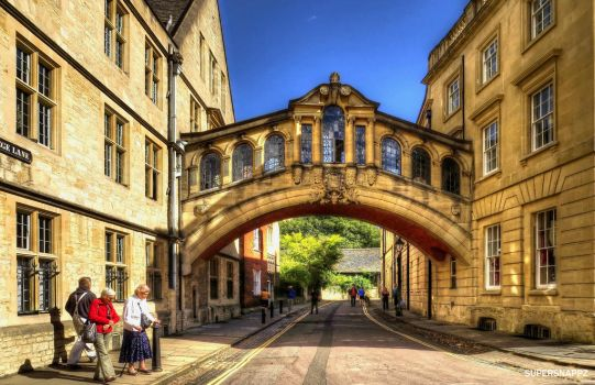 Bridge of Sigh's  Oxford by supersnappz16