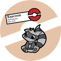 Fake Pokemon: Rascoon by Sageroot