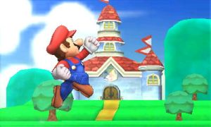 Mario - Super Smash Bros. 4 (3DS) Screenshot by JBX9001