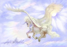 In the skies - Color by lapis-lazuri