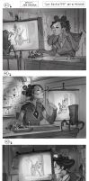 Mtg - Unstable - S.N.E.A.K. Dispatcher - Sketches by JohnoftheNorth