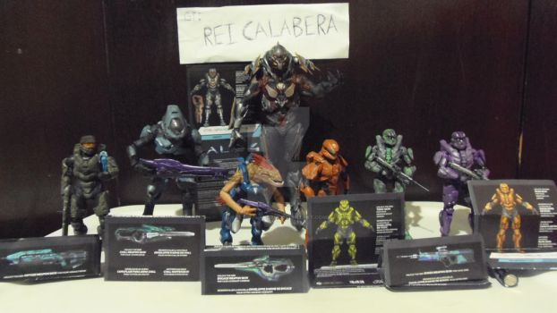 halo 4 series 2 collection complete by Rey-Calavera
