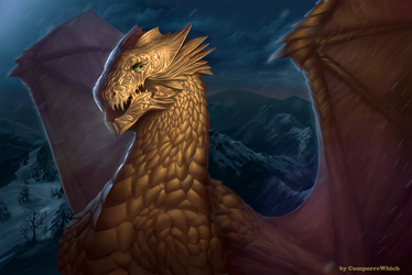 Mountain dragon by ComporreWhich