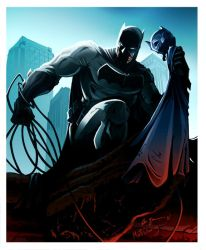 The Dark Knight Returns by FreakyPicasso
