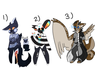 (COLLAB) Adopt Batch- OTA CLOSED by Drawcrazypictures