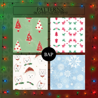 Patterns 001 // Christmas by BEAPANDA