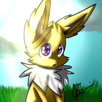 Bolt the Jolteon (From the comic S.S.E.C.) by Reyna174