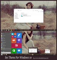 lne Theme Windows 10 Technical Preview by Cleodesktop