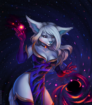 Galaxy Witch ych by Artist-LaiNa