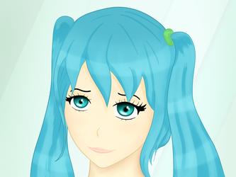 Miku (maybe Hatsune) by aNNiMON119