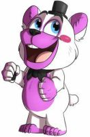 Helpy The Toy Bear by FnaFArtist1998