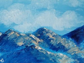 Blue Mountains II by isabelle-stark