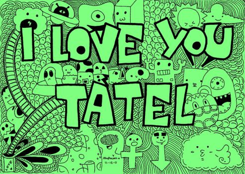 doodle:tatel by andreakris