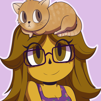 Profile Picture (Commission) (Milkyphantomadopts) by kangaroo722