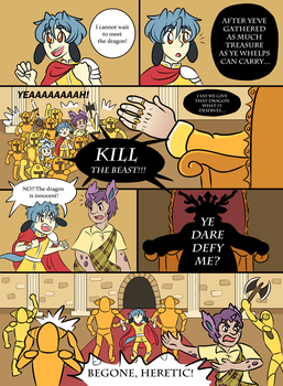 Medieval Misadventure by Captain-Coffee