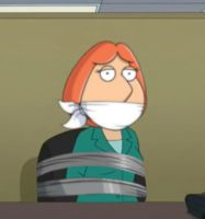 Lois Griffin Bound and Gagged by Goldy0123