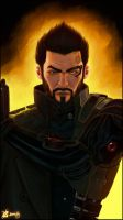 + Adam Jensen + by Bhansith