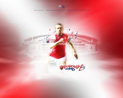 Lukas Josef Podolski Wallpaper by eaglelegend