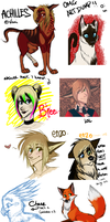 art dump AS PROMISED LOLOL by i-Winter