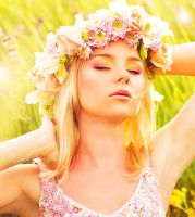 sunshine and flowers by lLondonBreakfastl