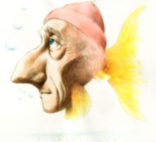 Jacques Cousteau by pardoart