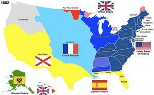 The United States, 1802 by Hillfighter