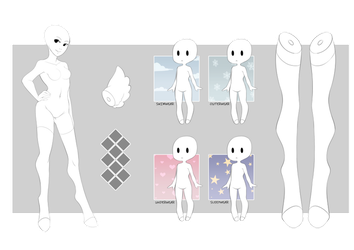 [D] YDH - Reference Sheet [CLOSED] by Mouei
