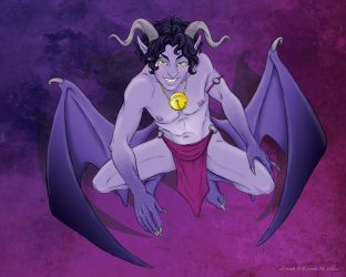 Brimys as an Incubus COLORED by KMCgeijyutsuka