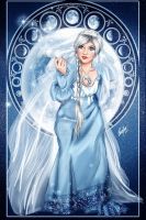The Moon by Queen-Uriel