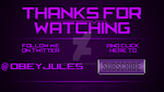 Obey Jules outro