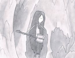 Marceline - Adventure Time by GuillotineRaven