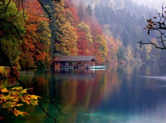 Alpsee, Germany by photogrifos