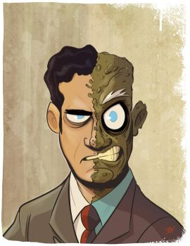 Two-Face by DaveBardin