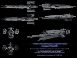 Tactical cruiser by SmirnovArtem