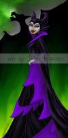 Maleficent by JunebugHardee