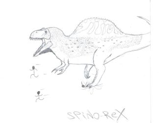THE SPINO-REX HYBRID by theropodrex