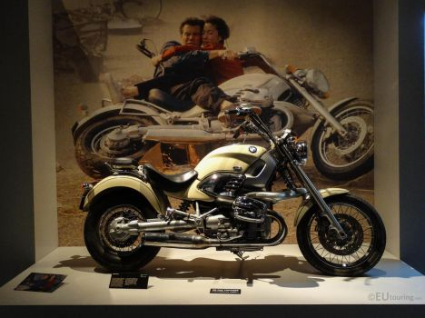 James Bond motorbike from Tomorrow Never Dies by EUtouring