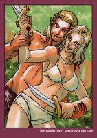 PSC - Zevran and Tabris 2 by aimo