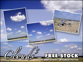 FREE STOCK, Clouds 5 by mmp-stock