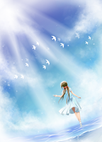 APH - Between Sea and Sky by TheTwinGardeners