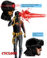 Cyclops Redesign by Demedesign