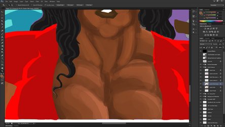 WIP - Practicing more painterly style by fmvra1s