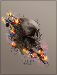 Abstract Skull by Maniakuk