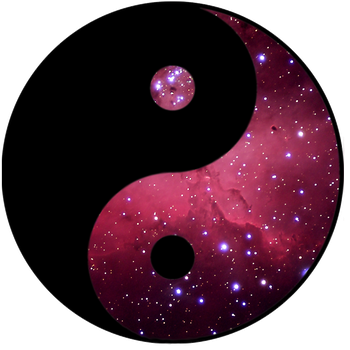 Yin and Yang...space edition by Toobworm