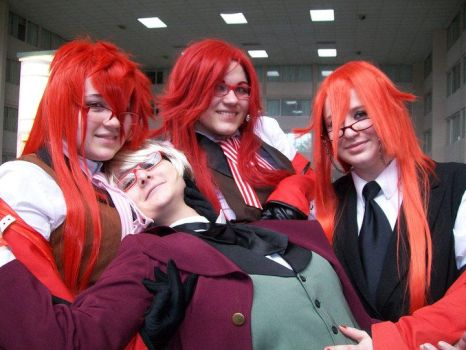 Alois and Grell x3 by SpellboundFox